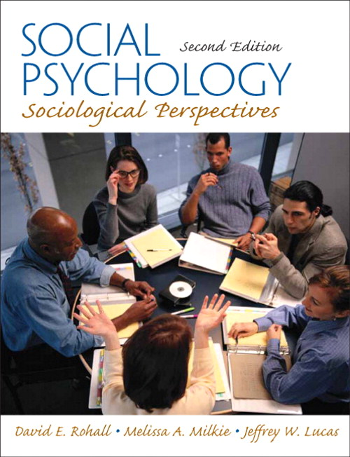 Social Psychology: : Sociological Perspectives, CourseSmart eTextbook, 2nd Edition