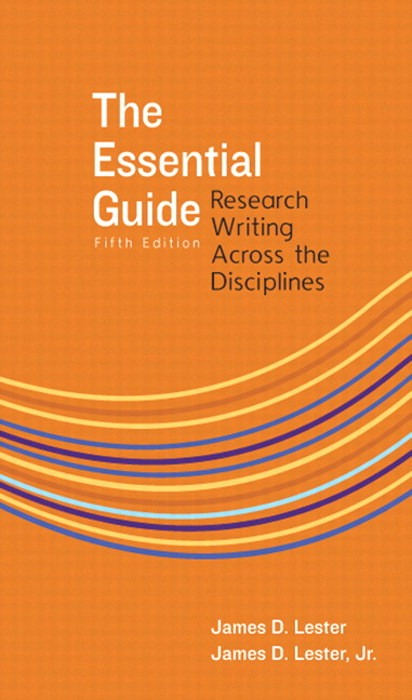 The Essential Guide: Research Writing Across the Disciplines, CourseSmart eTextbook, 5th Edition