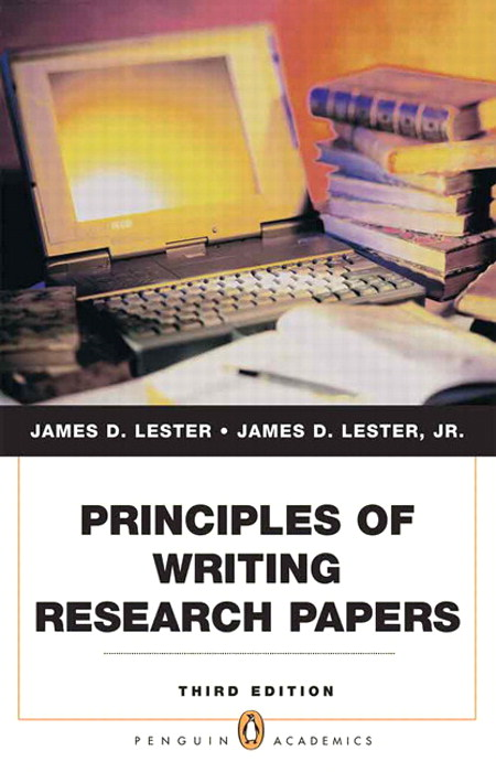 Principles of Writing Research Papers, CourseSmart eTextbook, 3rd Edition