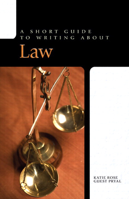 Short Guide to Writing About Law,A,  CourseSmart eTextbook