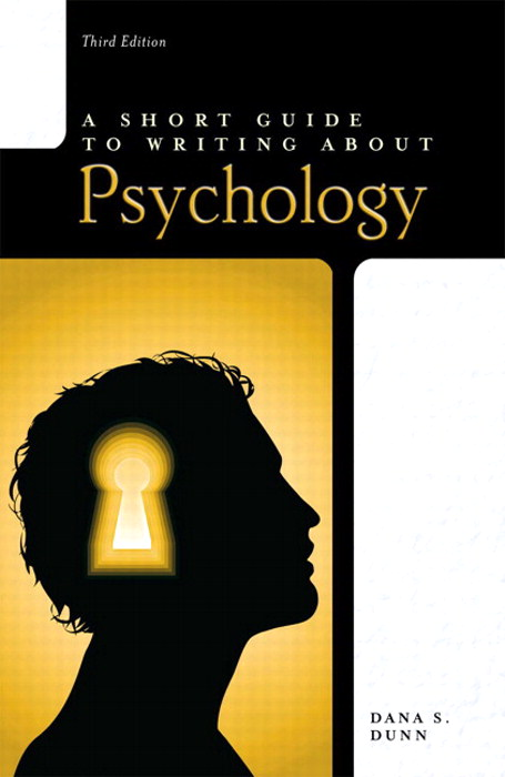 A Short Guide to Writing About Psychology, CourseSmart eTextbook