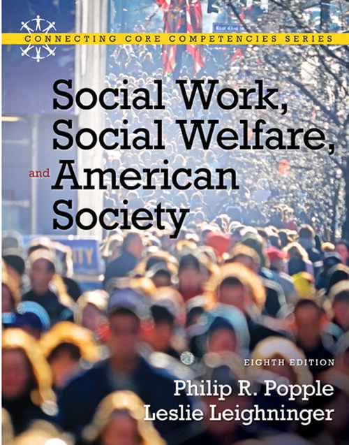 Social Work, Social Welfare and American Society, CourseSmart eTextbook, 8th Edition