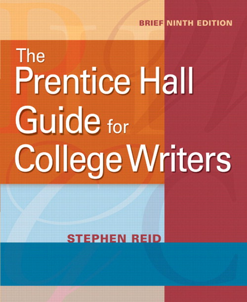 Prentice Hall Guide for College Writers, The, Brief, CourseSmart eTextbook, 9th Edition