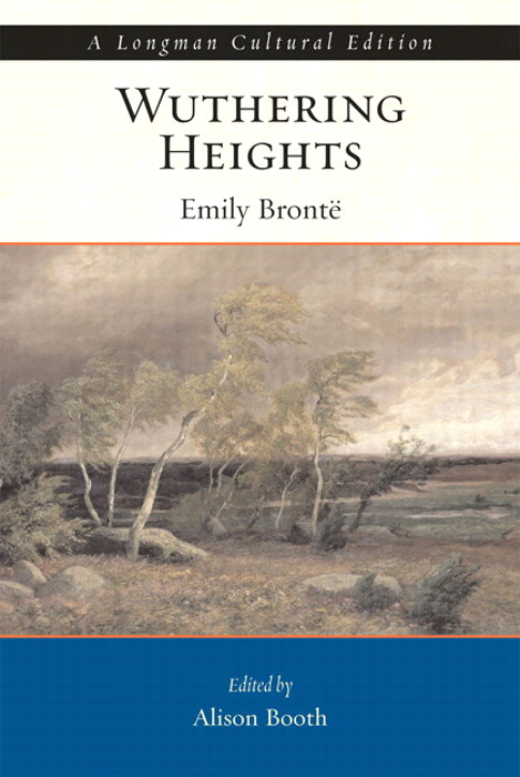 Wuthering Heights,  A Longman Cultural Edition,  CourseSmart eTextbook