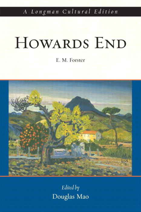 Howards End, A Longman Cultural Edition, CourseSmart eTextbook