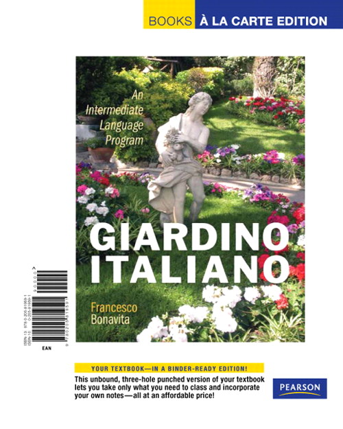 Giardino italiano: An Intermediate Language Program, Books a la Carte Edition