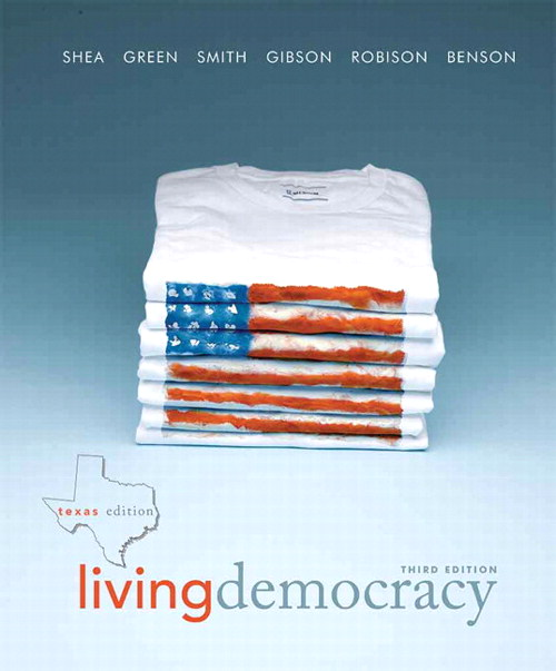 Living Democracy, Texas Edition, CourseSmart eTextbook, 3rd Edition