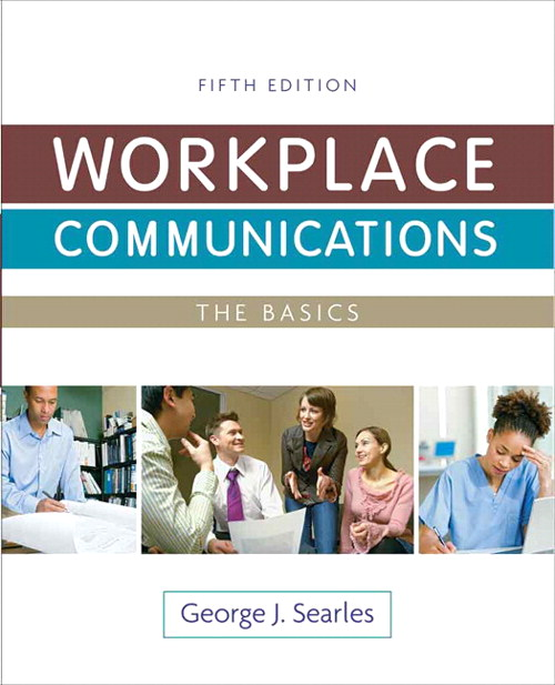 Workplace Communications: The Basics, CourseSmart eTextbook, 5th Edition
