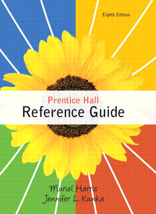Prentice Hall Reference Guide, CourseSmart eTextbook, 8th Edition