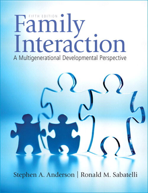 Family Interaction: A Multigenerational Developmental Perspective, CourseSmart eTextbook, 5th Edition