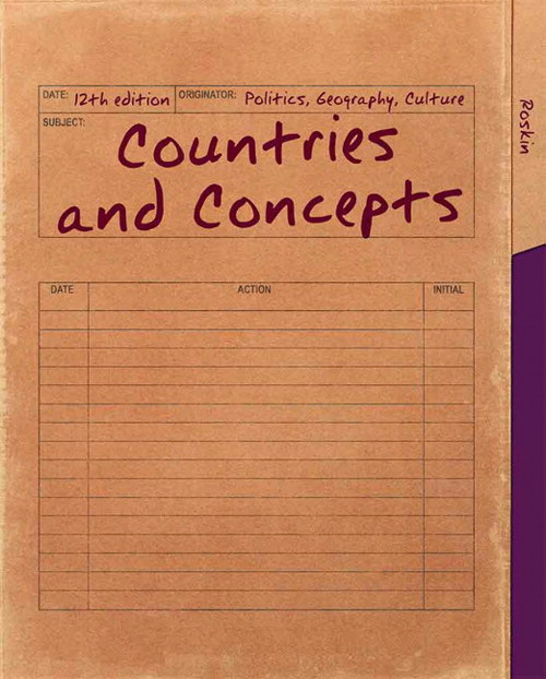 Countries and Concept: Politics, Geography, Culture, CourseSmart eTextbook, 12th Edition