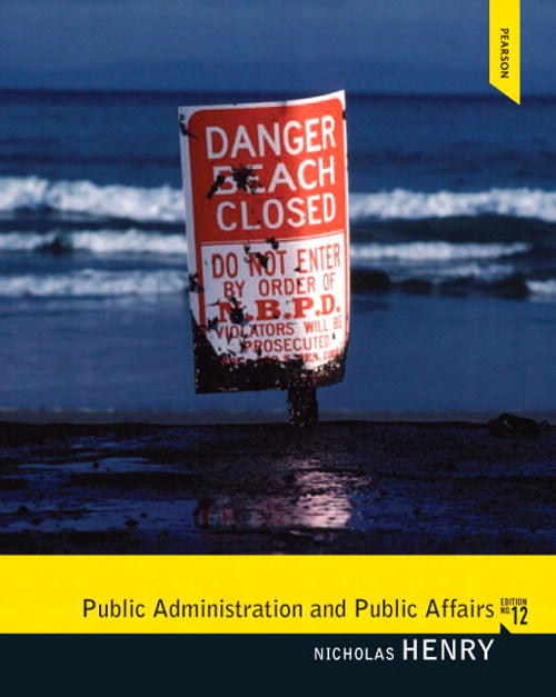 Public Administration and Public Affairs, CourseSmart eTextbook, 12th Edition