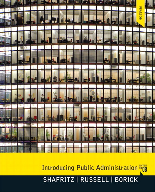 Introducing Public Administration, CourseSmart eTextbook, 8th Edition
