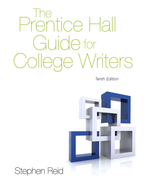 The Prentice Hall Guide for College Writers, CourseSmart eTextbook, 10th Edition