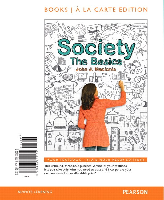 Society: The Basics, Books a la Carte Edition, 12th Edition