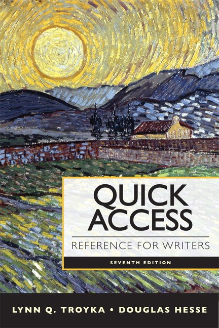 Quick Access Reference for Writers, 7th Edition
