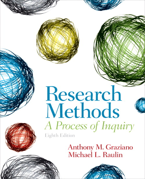 Research Methods: A Process of Inquiry, 8th Edition