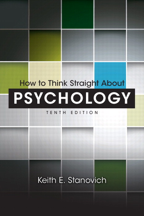 How To Think Straight About Psychology, CourseSmart eTextbook, 10th Edition