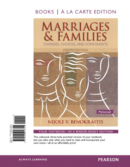 Marriages and Families, Books a la Carte Edition, 8th Edition