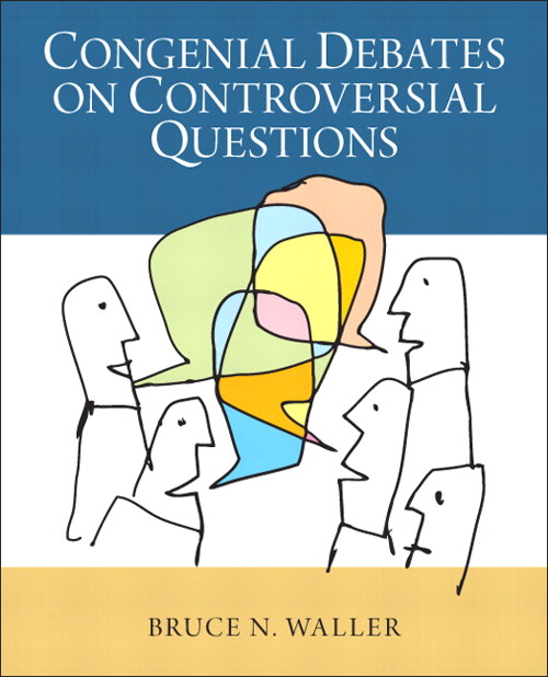 Congenial Debates on Controversial Questions, CourseSmart eTextbook