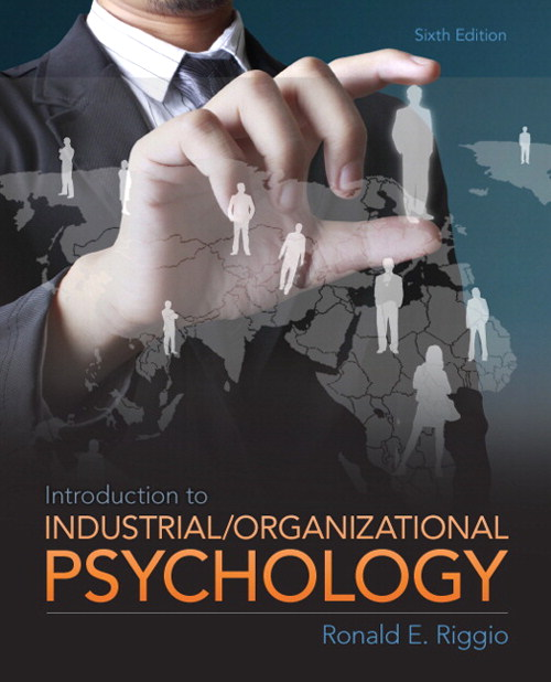 Industrial and Organizational Psychology, CourseSmart eTextbook, 6th Edition