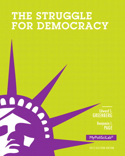 Struggle for Democracy, 2012 Election Edition, The, Books a la Carte Edition, 11th Edition