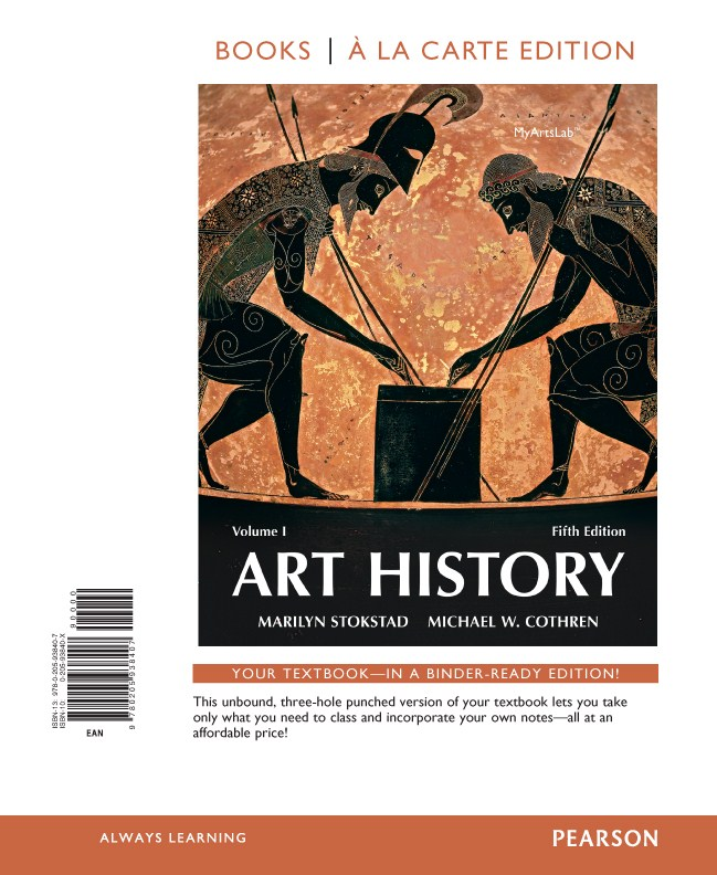 Art History Volume 1, Books a la Carte Edition, 5th Edition