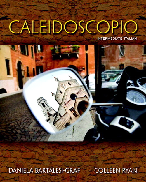 Caleidoscopio with MyItalianLab (multi semester access) -- Access Card Package