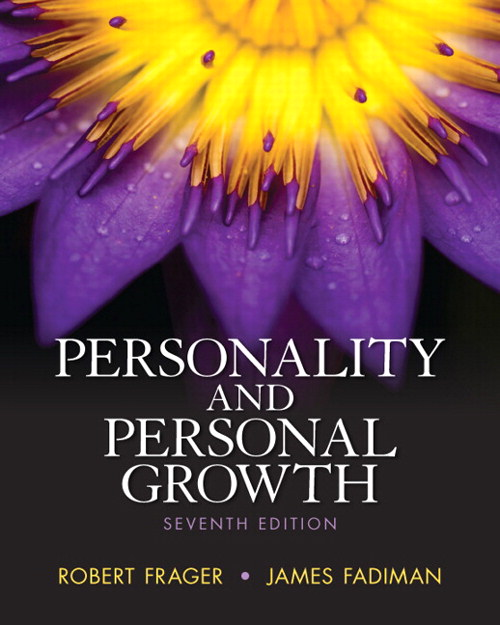 Personality and pesonal Growth, CourseSmart eTextbook, 7th Edition