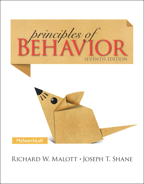 Principles of Behavior, CourseSmart eTextbook, 7th Edition