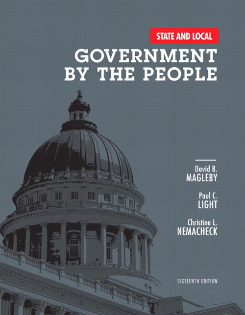 State and Local Government by the People, 16th Edition