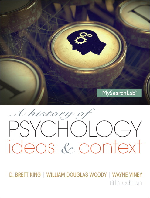 A History of Psychology, CourseSmart eTextBook, 5th Edition