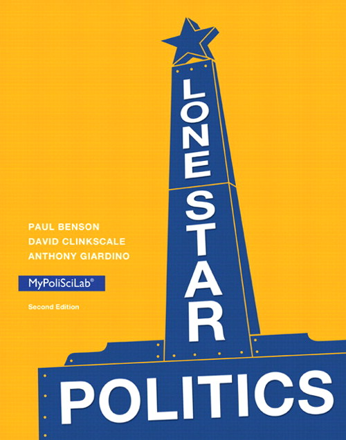 Lone Star Politics, CourseSmart eTextbook, 2nd Edition