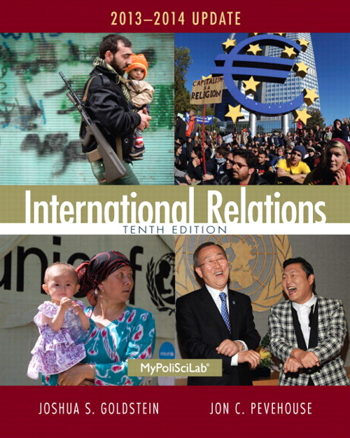 International Relations 2013-2014 Update, CourseSmart eTextbook, 10th Edition
