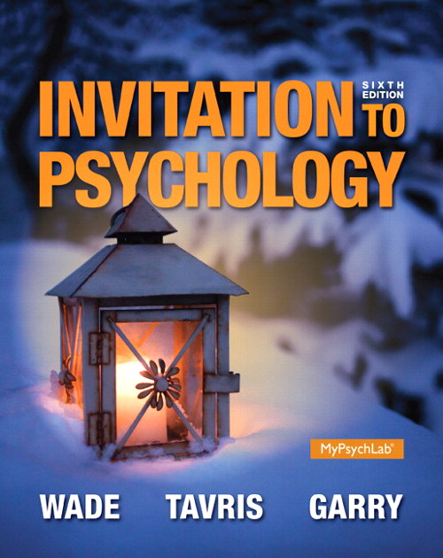 Invitation to Psychology, CourseSmart eTextbook, 6th Edition