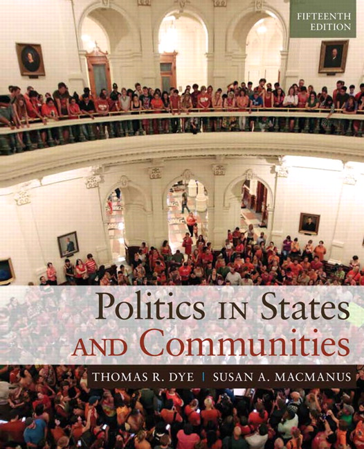 Politics in States and Communities, CourseSmart eTextbook, 15th Edition