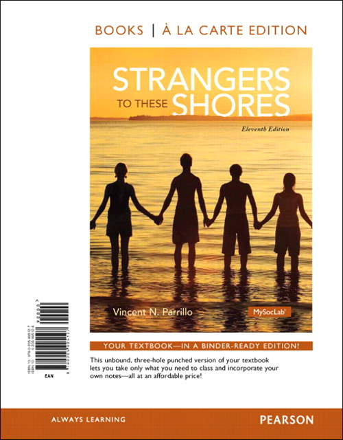 Strangers to These Shores, Books a la Carte Edition, 11th Edition