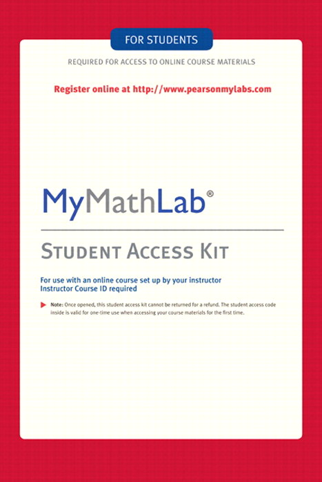 MyMathLab -- Standalone Access Card, 4th Edition