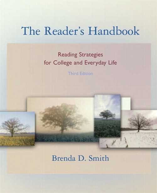 Reader's Handbook, The: Reading Strategies for College and Everyday Life (book alone), 3rd Edition