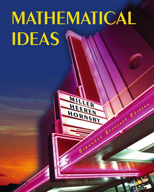 Mathematical Ideas Expanded Edition plus MyMathLab Student Access Kit, 11th Edition