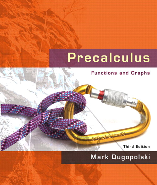 Precalculus: Functions and Graphs, CourseSmart eTextbook, 3rd Edition