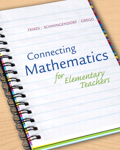 Connecting Math for Elementary Teachers: How Children Learn Mathematics, CourseSmart eTextbook