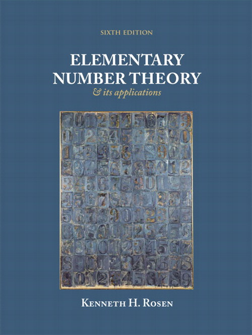Elementary Number Theory, CourseSmart eTextbook, 6th Edition