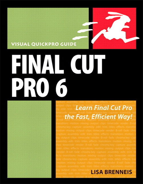 Final Cut Pro 6: Visual QuickPro Guide, Safari
