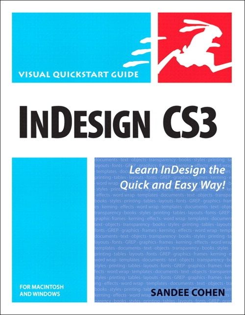 InDesign CS3 for Macintosh and Windows: Visual QuickStart Guide, Safari