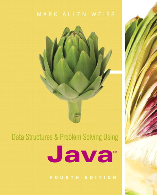 Data Structures and Problem Solving Using Java, CourseSmart eTextbook, 4th Edition