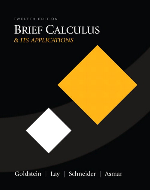 Brief Calculus & Its Applications, CourseSmart eTextbook, 12th Edition