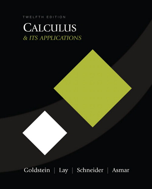Calculus & Its Applications, CourseSmart eTextbook, 12th Edition
