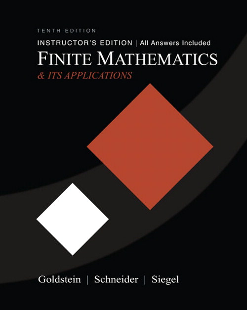 Finite Mathematics & Its Applications, CourseSmart eTextbook, 10th Edition