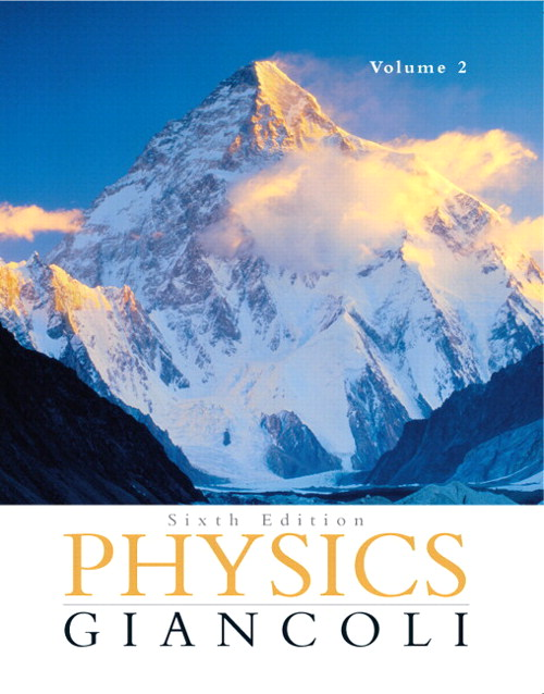 Physics: Principles with Applications Volume 2 (Chapters 16-33) with MasteringPhysics, 6th Edition